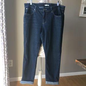 Eileen Fisher Medium/Dark Wash Jeans